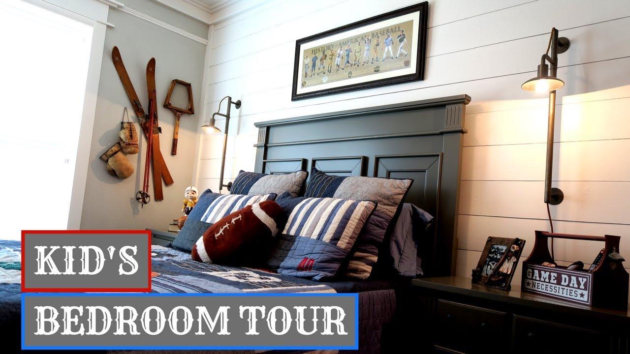 Kids Bedroom Tour Fixer Upper Update Youtube