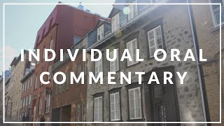 IB Language and Literature Tips - Individual Oral Commentary (IOC)