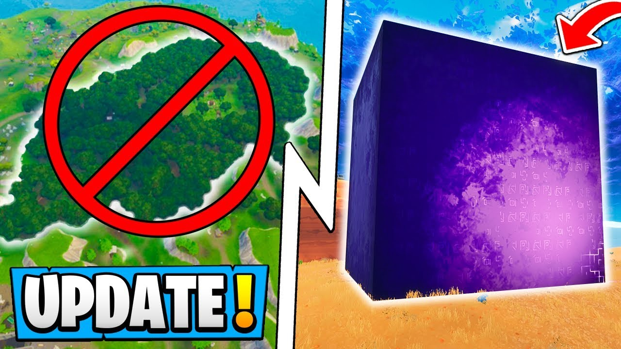 *BIG* Fortnite Update! | CUBE is Moving, RIP Wailing Woods, Rocket V2! ( Season 5 )