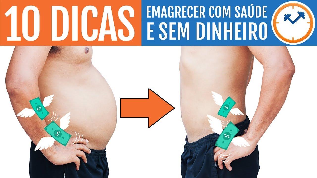 Como Emagrecer COM SAÚDE e SEM DINHEIRO   Saúde na Pobreza ...