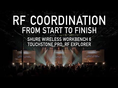 RF Coordination with Touchstone Pro & Shure Wireless Workbench 6