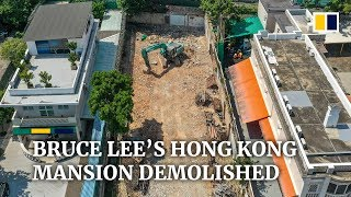Bruce Lee's former mansion in Hong Kong torn down to make way for Chinese studies centre