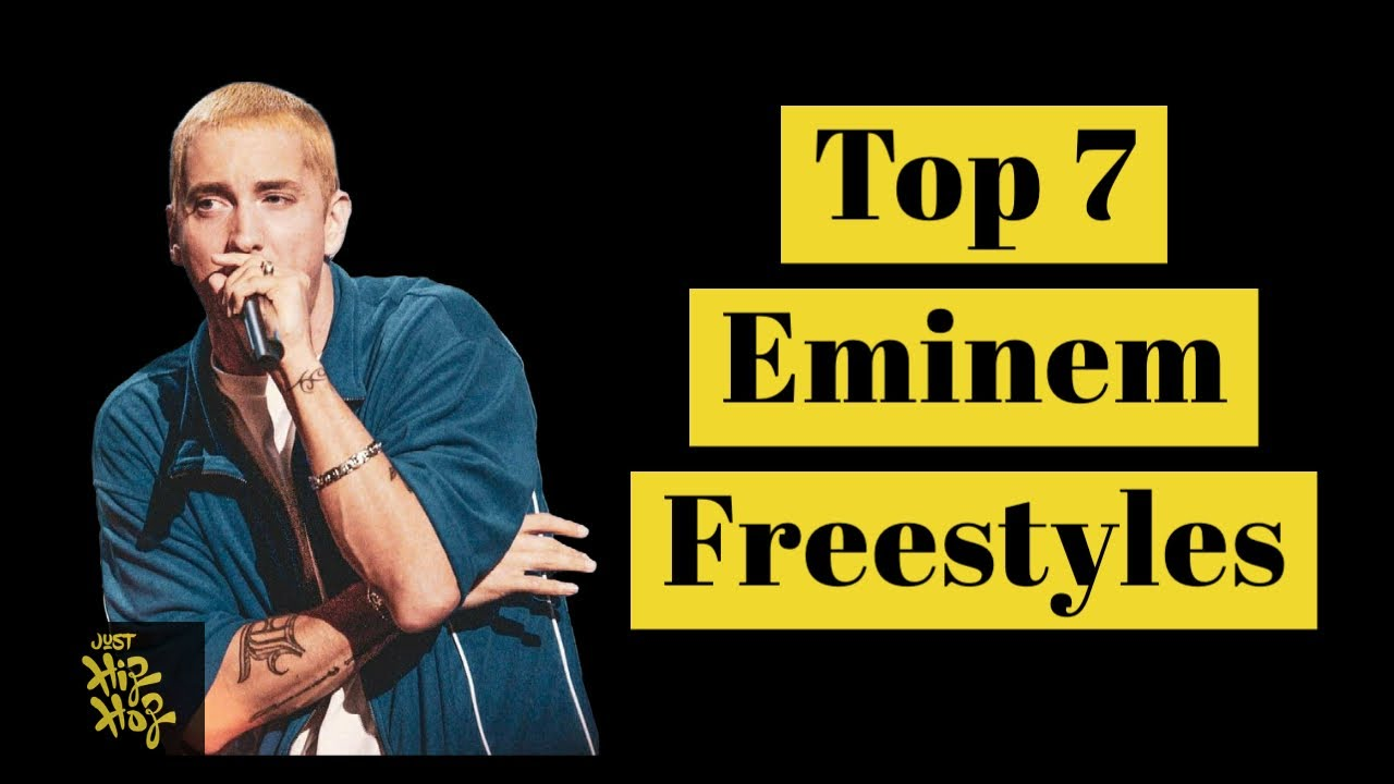 Top 7 - Best Eminem Freestyles Of All Time