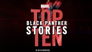 Marvel Top 10 Black Panther Stories