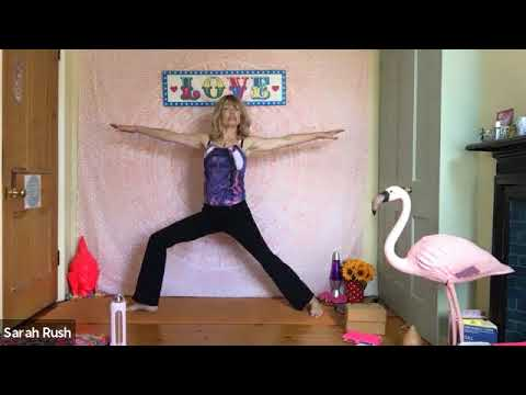 Full Pregnancy Yoga Class, suitable for all stages of pregnancy, with Sarah Rush