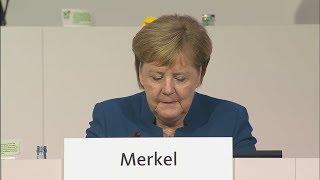 """Angela Merkel verabschiedet sich als Partei-Chefin: """"Es war mir eine Ehre"""""""