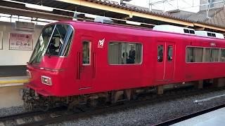こいつも車体が...名鉄5700系 5703F (普通東岡崎行き) 知立発車 SRシリーズ164弾