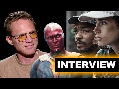 Paul Bettany Interview - Marvel's Vision, writing & directing Shelter 2015 - Beyond The Trailer