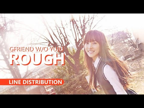 GFRIEND 여자친구 Without Yuju - ROUGH 시간을 달려서 | Line Distribution