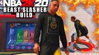 This Slasher Build Is A Demon On NBA 2K20! Easy Dunks! NBA 2K20 Park Gameplay