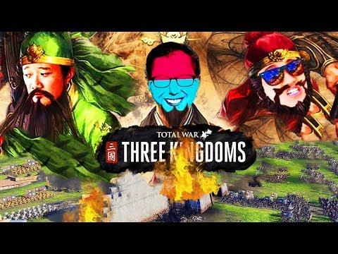 Total War: THREE KINGDOMS 1: CÙNG QUAN VŨ, TRƯƠNG ĐẠT THỐNG NHẤT TAM QUỐC !!!