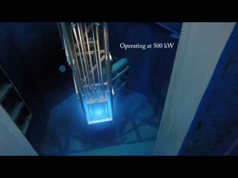 Breazeale Nuclear Reactor Start up, 500kW, 1MW, and Shut Down