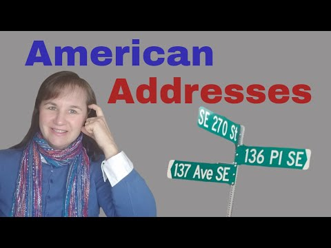 How To Say American Addresses
