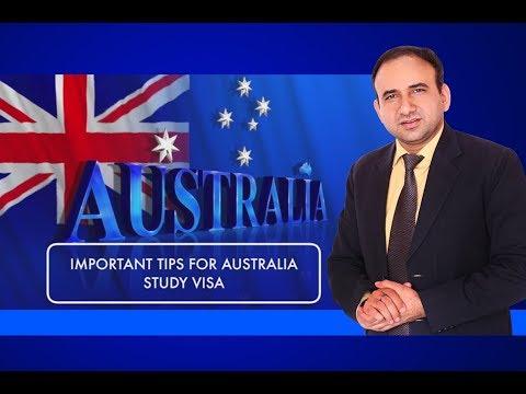 Australia Student Visa - Important Tips 2017
