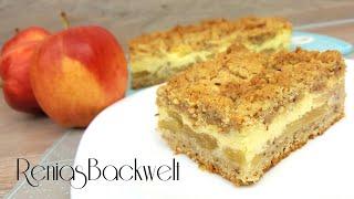 Apfel + Nuss = leckerer Kuchengenuss