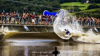 Pro Surf Contest in a Wave Pool - Red Bull Unleashed