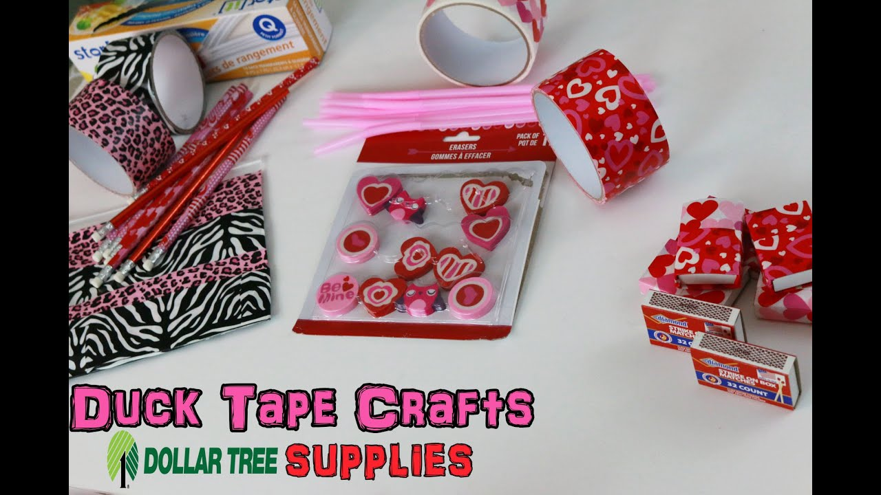 Pinsday Dollar Tree Crafting My Duck Tape Crafts Bag Necklace