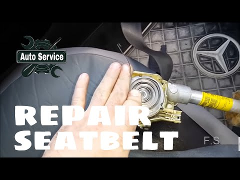 how to repair a seatbelt