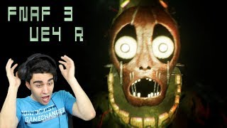 SPRINGTRAP IS A REAL NIGHTMARE IN THIS GAME!! - Five Nights at Freddy