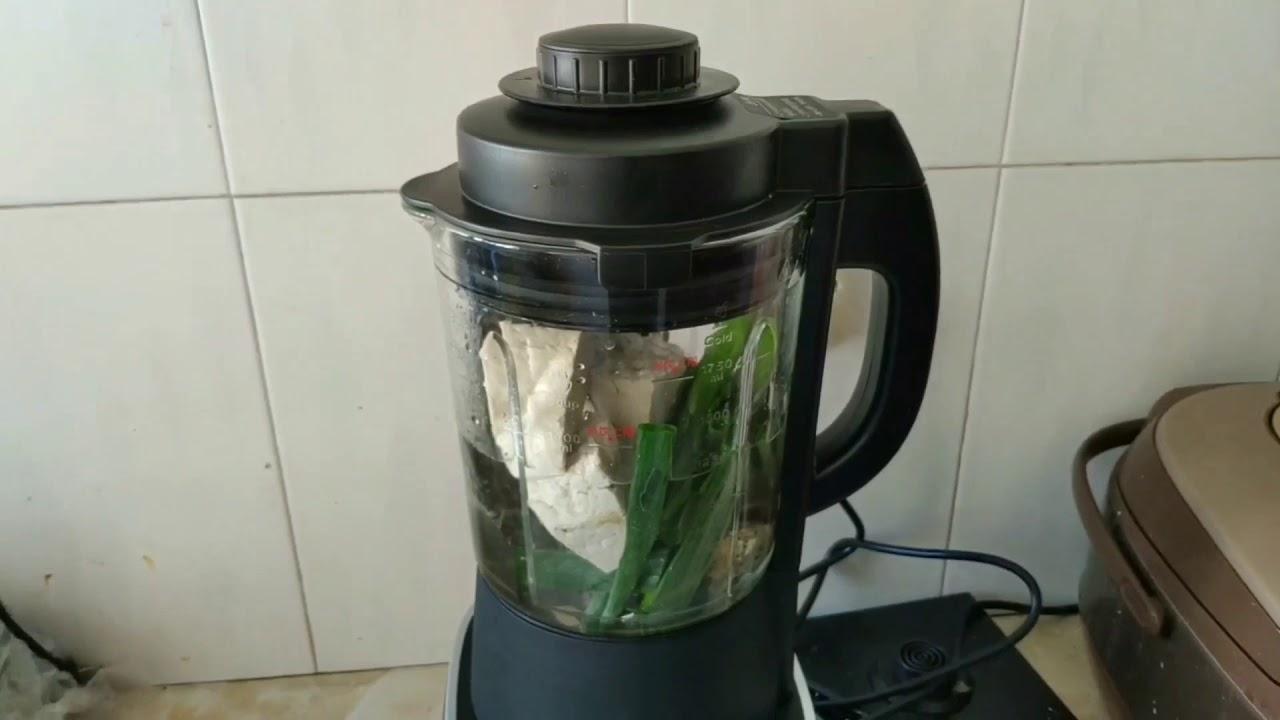料理机做鲫鱼汤Cooking machine Catfish soup