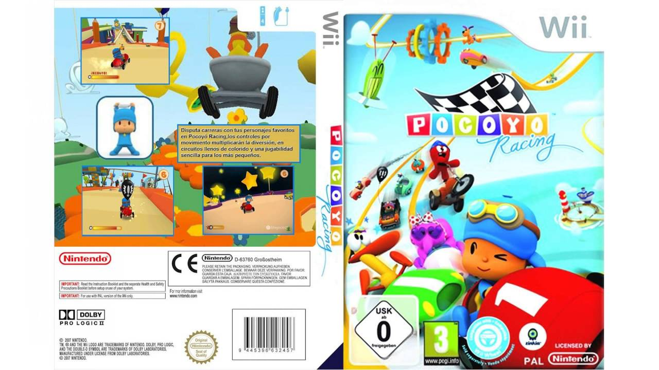 Pocoyo Racing WII - YouTube