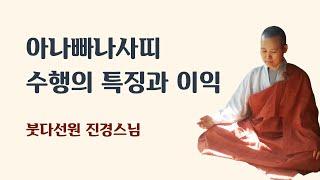 아나빠나 사띠 들숨날숨에 마음챙김  수행의 특징과 이익  2017년 1월 25일