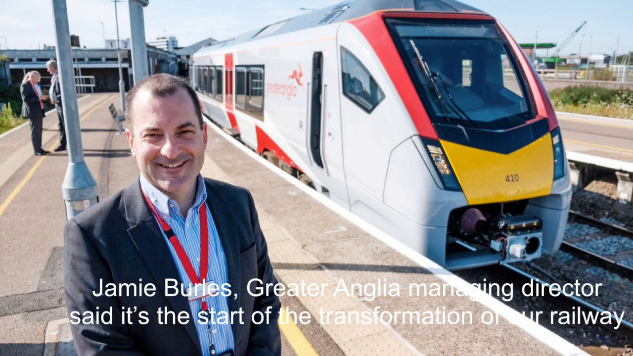 New Era starts for Greater Anglia as first brand new bi-mode train rolls into service