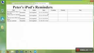 [iOS Data Recovery] Directly Recover Reminders from iPod touch 4