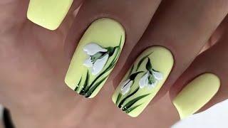 Новинки идей маникюра 2021 актуальный дизайн ногтей на весну 2021 Nails Art Design