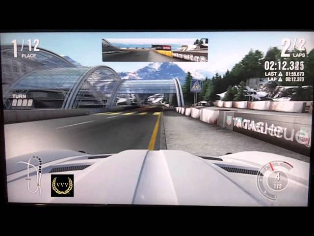 Forza 4 Mountain Gameplay E3 2011