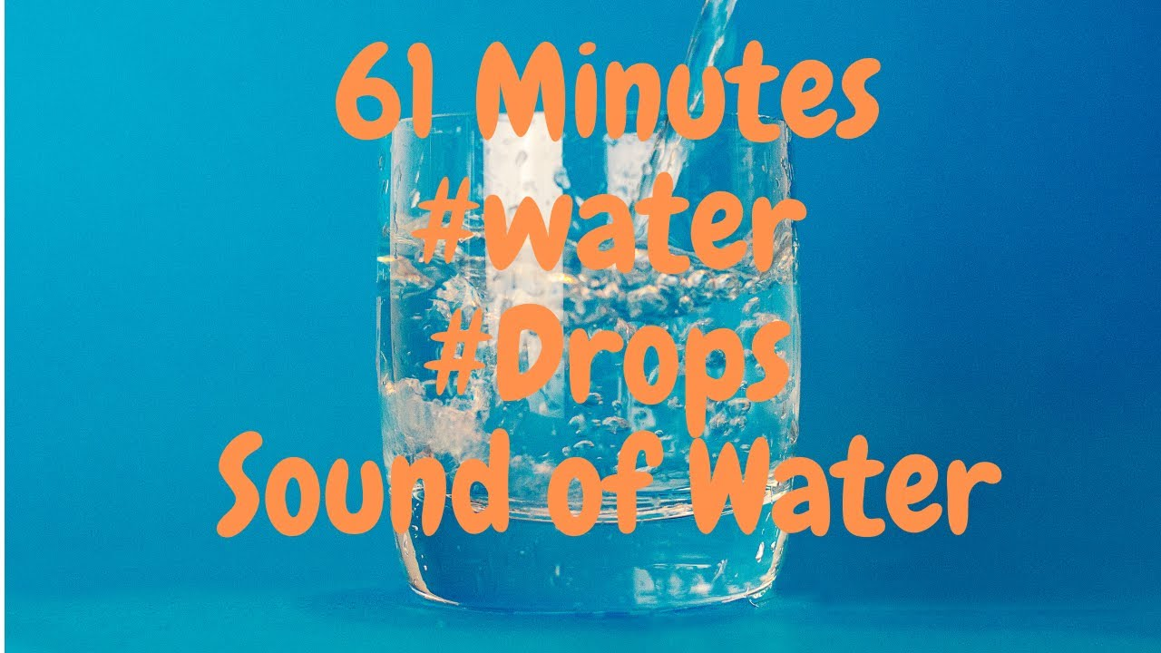 61 minutes of #relax  #drops  #chillout  #sleep  #water #spa #ambient  #relaxmusic  #sleepmusic