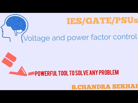 VOLTAGE AND POWER FACTOR CONTROL IN POWER SYSTEMS FOR IES/GATE/PSUs