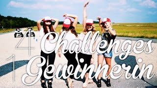 4 CHALLENGES durch Berlin ♡ #LOFost ♡  | Dagi Bee
