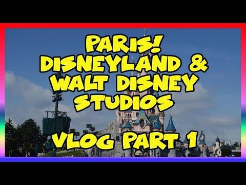 Paris!  Disneyland and Walt Disney Studios Vlog part 1 - Sir Willow's Park Tales ep. 45