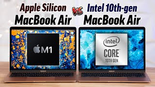 M1 MacBook Air vs Intel MacBook Air: ULTIMATE Comparison