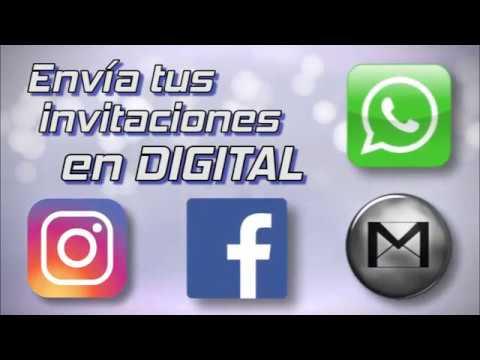 Tarjeta De Invitación Animada Digital