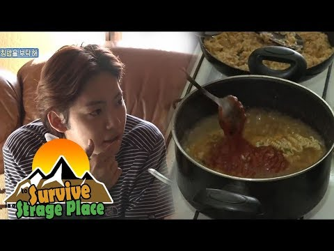 ['JINWOO' To Survive In Georgia] They Decided To Make Korean Food For The Georgian Family 20170806