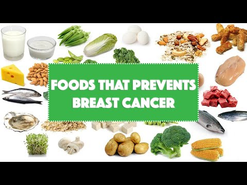 Foods that prevents Breast Cancer