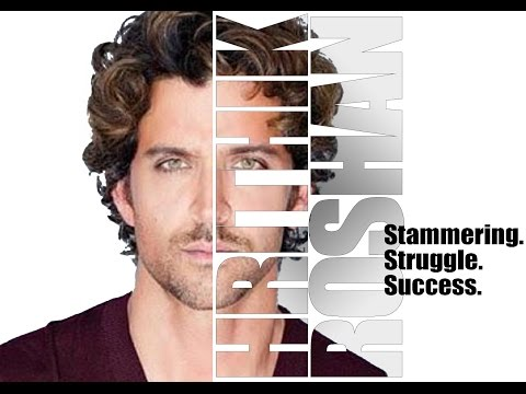 How Hrithik Roshan has cured Stammering | Biography |  Struggle & Success Story