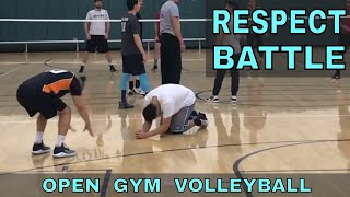 RESPECT BATTLE  - Open Gym Volleyball Highlights (1/25/18) PART 1