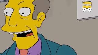 Les Simpson en Français 2018 - le directeur de l'école a l'air très en colère
