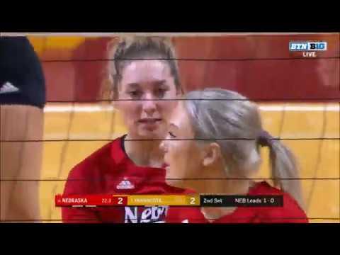 Nebraska vs Minnesota | Women's Volleyball Championship 2019