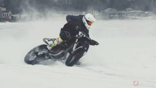 2017 Ice Track Racing - American Flat Track Style