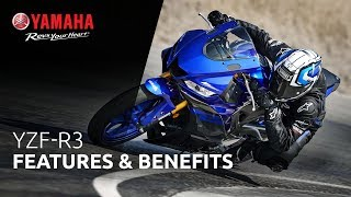 2020 Yamaha YZF-R3 Supersport Motorcycle - Model Home