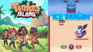 Tinker Island | GLACIER VS Fafnir Dragon