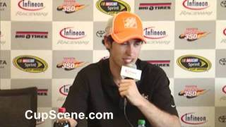 Joey Logano Coors Light Pole press conference from Infineon Raceway