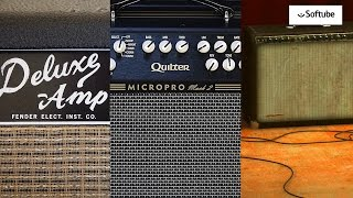 SHOOTOUT: Tube - Digital - Solid State Amps (Softube Brown Amp vs Quilter MicroPro vs Fender Deluxe)