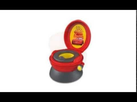 the first years potty system disney pixar cars rev and go boy sounds bathroom youtube
