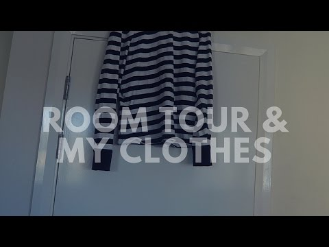 ROOM TOUR & MY CLOTHES