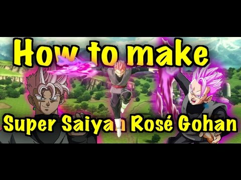 How to make Gohan Rose In Dragon Ball xenoverse 2